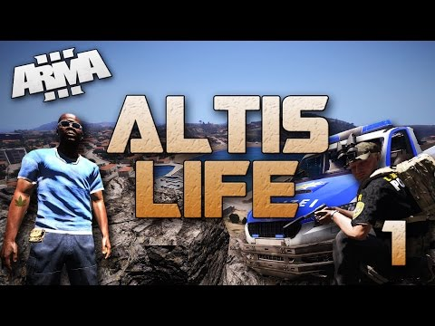 Cocaine Run & Cop Torture! (ARMA 3 Altis Life #1)