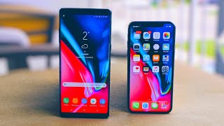 iPhone X vs Samsung Galaxy Note 8: There's Only One King