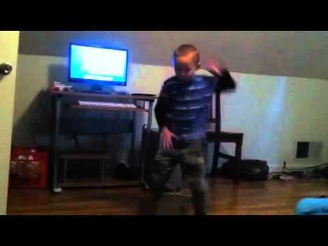 Gregg dancing to Pittbull