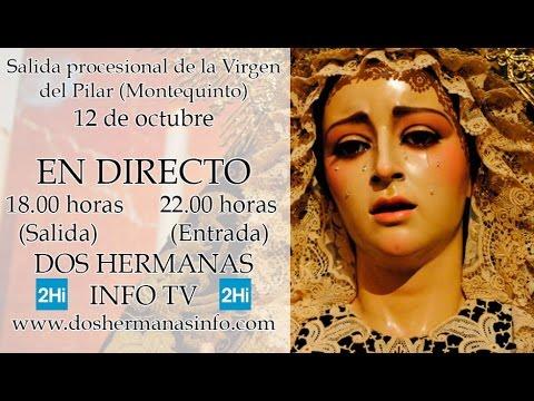Salida Virgen del Pilar de Montequinto
