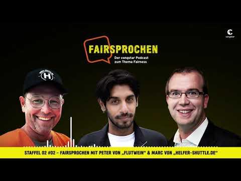 "congstar Podcast Staffel 2 #02 - FAIRsprochen mit ""Flutwein"" & ""helfer-shuttle.de"""