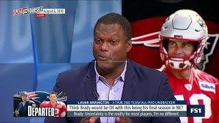 SPEAK for YOURSELF   LaVar Arrington REACT Tom Brady on Patriots: