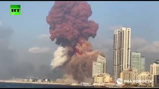 مشاهد جديدة للحظة انفجار بيروت