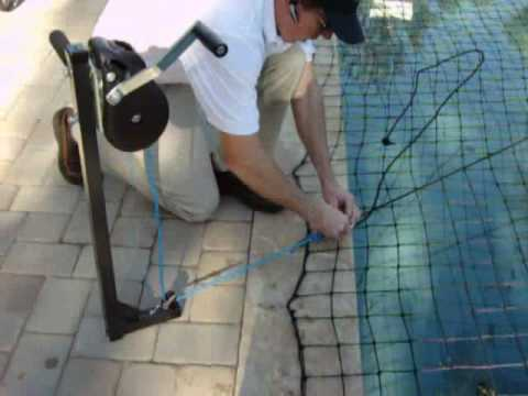 All-Safe Pool Net Large Titan Tool Demonstration