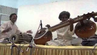 Balachander - Dhrupad on Chandra Veena - Raga Bageshree, Tala Dhamar
