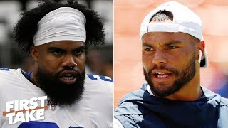 The Cowboys' Super Bowl hopes rest on Dak and Zeke - Max Kellerman   First Take