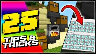 25 Minecraft Tips, Tricks, & Secrets You Need To See