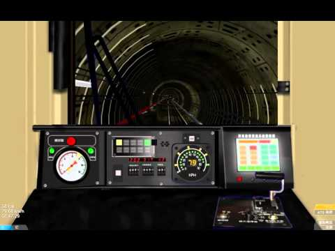 OPEN BVE UR301板南線模擬駕駛
