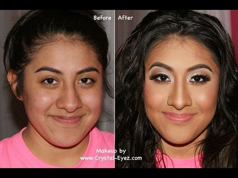 Before & After Makeover - Prom Makeup