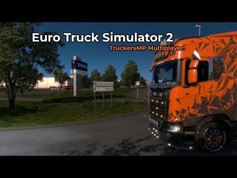 Euro Truck Simulator 2 - TruckersMP (Opname 27/09/2018)