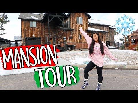 HUGE MANSION TOUR!! Vlogmas Day 9