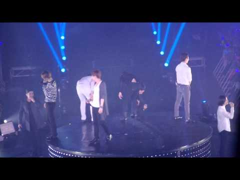 [150110] evanesce mistake on stage SS6 in Bangkok  SUPERJUNIOR
