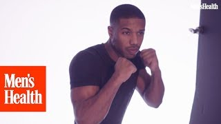 Michael B. Jordan's Top 5 Bodyweight Moves | Men's Health