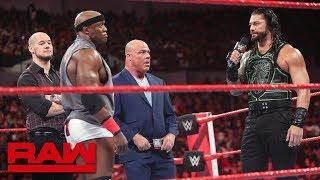 Brock Lesnar's contractual negotiations hit a snag: Raw, June 25, 2018