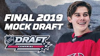 2019 NHL Mock Draft (Game) - Ft. Scouching, MirokiOnDefence, Keith Fries and Legorocks99