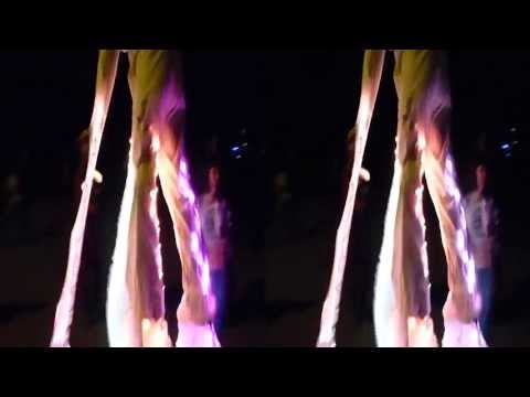 Glowing Costume @ Decompression 2013 (YT3D:Enable=True)