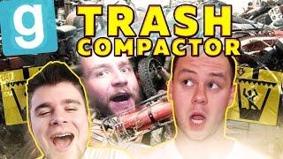 POWRÓT ŚMIECIARZY! | Garry's mod (With: EKIPA) #464 - Trash Compactor [#6] #Bladii #Po Polsku #PL