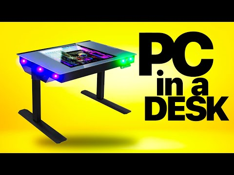 The ultimate Gaming PC... IN A DESK!