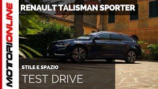 Renault Talisman Sporter | Test drive, pregi e difetti