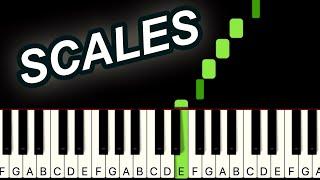 A Major Piano Scale Practice!