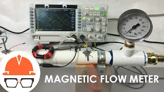 How to Measure Flow with Magnets - (Magnetic Flow Meters)