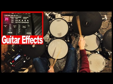 What Happens When You Put Guitar Effects On Drums?