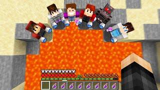 Minecraft Manhunt, But if i DIE my Friends LOSE..