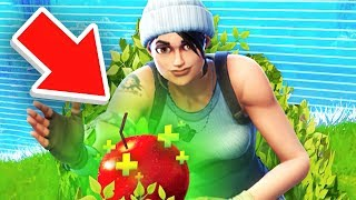 APPLE ONLY CHALLENGE in Fortnite Battle Royale
