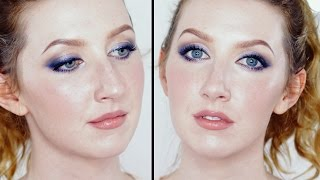 Emma Stone Inspired Soft Purple Eyeshadow- Pale Skin Friendly!