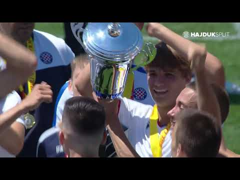 Kadeti HNK Hajduk osvajači Hrvatskog kupa 2020/2021