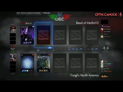 UGC Western Invite Grand Final - TongFu.NA vs. Band of Misfits - Game 1 w/ @CptnCanuckDota