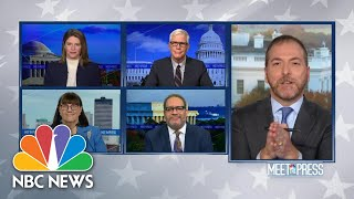 Full Panel: President Trump Still Falsely Claiming Voter Fraud | Meet The Press | NBC News