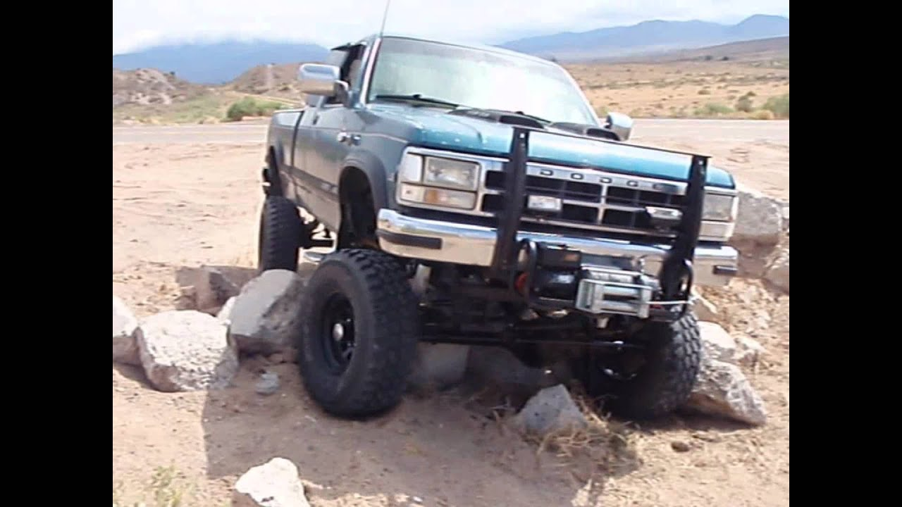1993 Dodge Dakota Sas First Test Drive In Rock Climbing