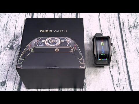Nubia Smart Watch - Check Out The Flexible Display
