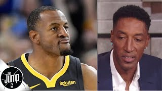 Scottie Pippen agrees with Andre Iguodala: Nobody's going to the Knicks | The Jump