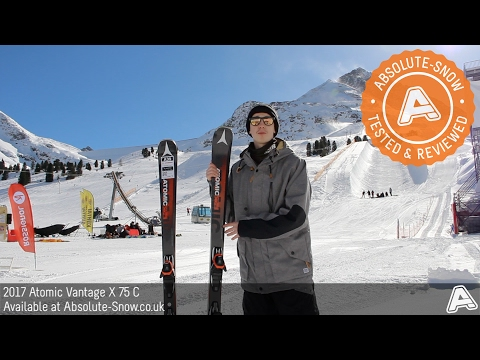 2016 / 2017 | Atomic Vantage X 75 C Skis | Video Review