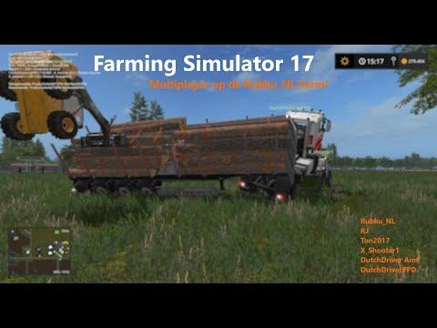 Farming Simulator 17 met Rubku_NL (20/06/17)