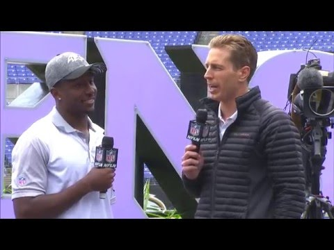 Tavon Young Meets Ravens Fans On Draft Day