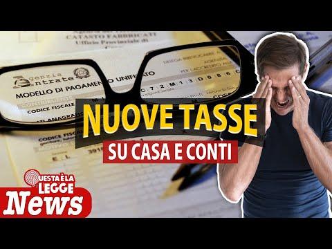 NUOVA TASSA sui CONTI e sulla CASA   Avv. Angelo Greco