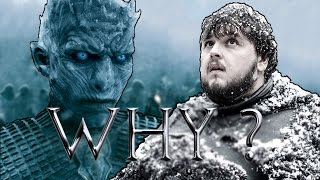 Why Did The White Walker Spare Sam's Life ? | Game of Thrones