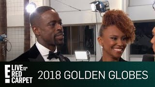 Sterling K. Brown Explains Surprising Home Birth Story   E! Live from the Red Carpet