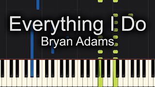 Everything I Do Piano Cover + Sheet Music Available!!