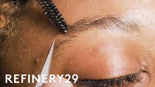 I Got Eyebrow Extensions For The First Time | Macro Beauty | Refinery29