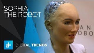 Robot Sophia & Dr. Hanson Interview at CES 2018