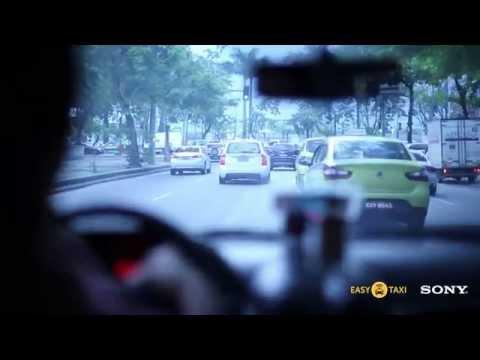 Easy Taxi e Sony - Visita Surpresa