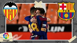 Valencia vs FC Barcelona | LALIGA HIGHLIGHTS | 5/02/2021 | beIN SPORTS USA