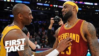 Stephen A. would take Kobe over LeBron In the final two minutes of a game | First Take | ESPN