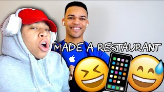 HE DON'T MISS | Kyle Exum - If Apple Made a Restaurant | SimbaThaGod Reacts