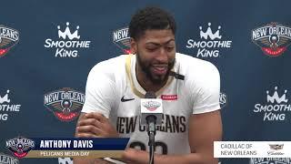 Anthony Davis | Pelicans Media Day | 2018-19