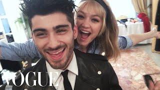 Inside Zayn Malik and Gigi Hadid's First Photo Shoot as a Couple